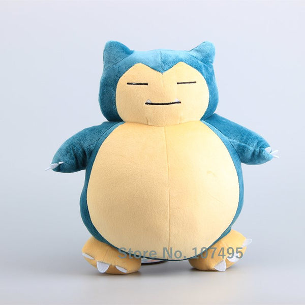 "NEW Arrival  Pikachu Snorlax Stuffed Dolls Snorlax Cute Plush Toys 12 ""30 CM"