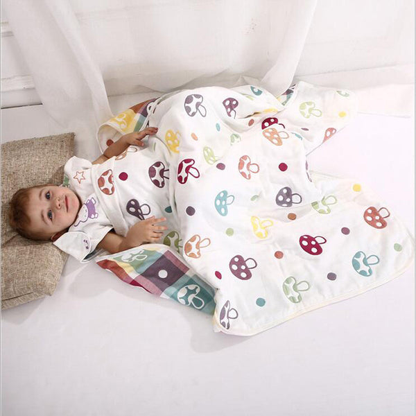 Multi layer Muslin Cotton Baby Blankets