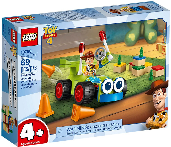 LEGO Toy Story 4: 10766 Woody & RC. 2019. Complete with instructions, opened.