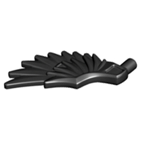 Minifig Wings, Feathered (5) 11100