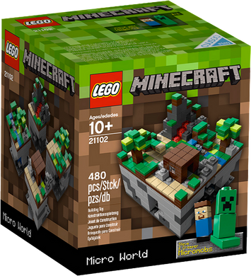 LEGO MineCraft Micro-World: The Forest 21102