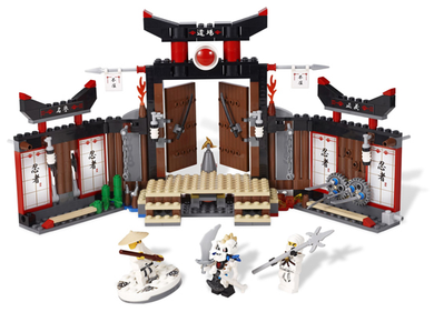 LEGO Ninjago: The Golden Weapons: 2504 Spinjitzu Dojo. 2011. Preowned.
