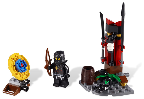 LEGO Ninjago: The Golden Weapons: 2516 Ninja Training Outpost. 2011. Preowned.