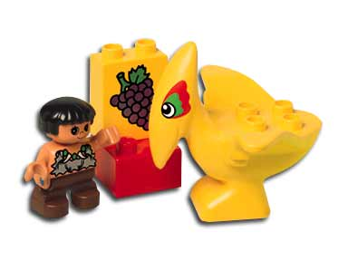 2806 DUPLO Mini Dinosaur Set (1997)