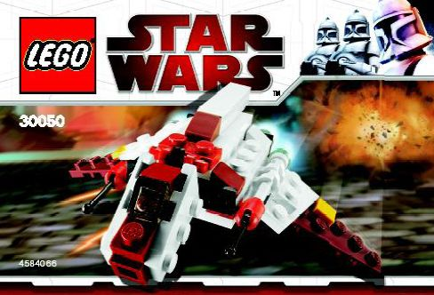 LEGO Star Wars Clone Wars: 30050 Republic Attack Shuttle. 2010. Preowned.
