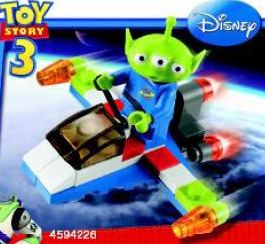 Toy Story 3: 30070 Alien Space Ship. 2010. Preowned.