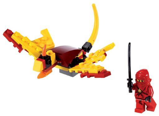 LEGO Ninjago: The Golden Weapons: 30083 Dragon Fight. Preowned.