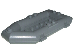 Boat, Rubber Raft, small, gray boat 30086