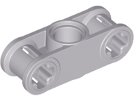 LEGO 32814 Technic, Axle and Pin Connector Perpendicular 3L with Center Pin Hole . Lt bluish gray. New. Pkg of 2
