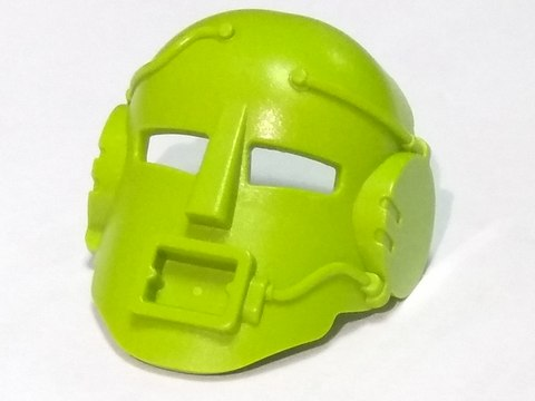 Bionicle Mask Mahiki (Turaga). 32575 (2001). Lime.