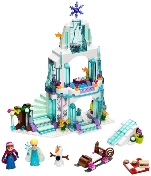 Disney Princess: Frozen: 41062 Elsa's Sparkling Ice Castle. Complete with instructions, Preowned.