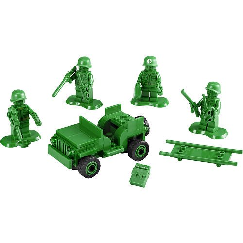 LEGO Toy Story: 7595 Army Men on Patrol. 2010. Preowned.