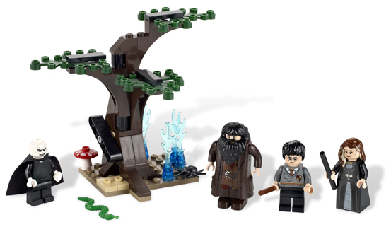 LEGO Harry Potter: 4865 The Forbidden Forest. 2011. Preowned.