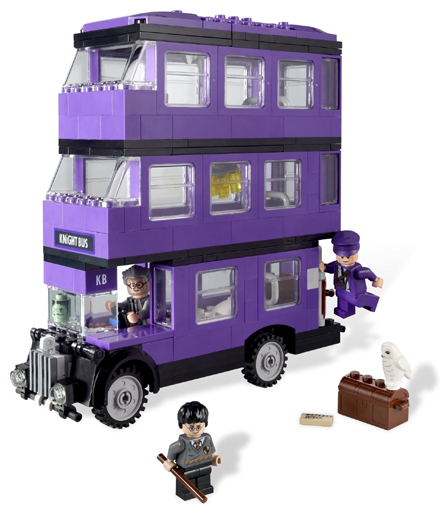 LEGO Harry Potter: 4866 The Knight Bus. 2011. Preowned.