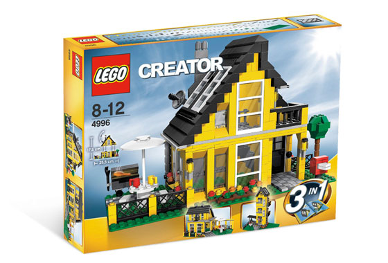 LEGO Creator: 4996 Beach House 3 in 1. Preowned. 2008.