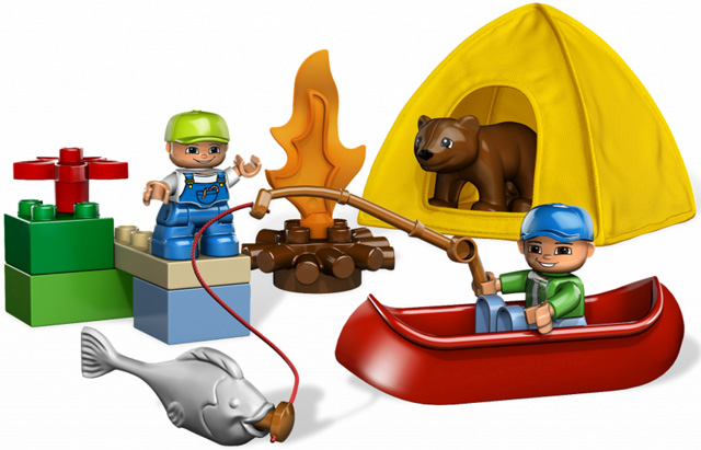 5654 DUPLO Fishing Trip Set