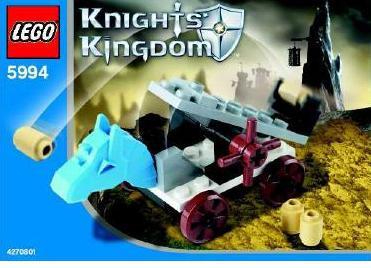 LEGO Castle: Knights Kingdom II: 5994 Catapult. 2005. Preowned.