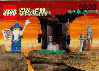 LEGO Castle: Dragon Knights: 6020 Magic Shop. 1993. Preowned.