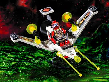 LEGO Space: UFO: 6836 V-Wing Fighter. 1997. Vintage. Preowned.