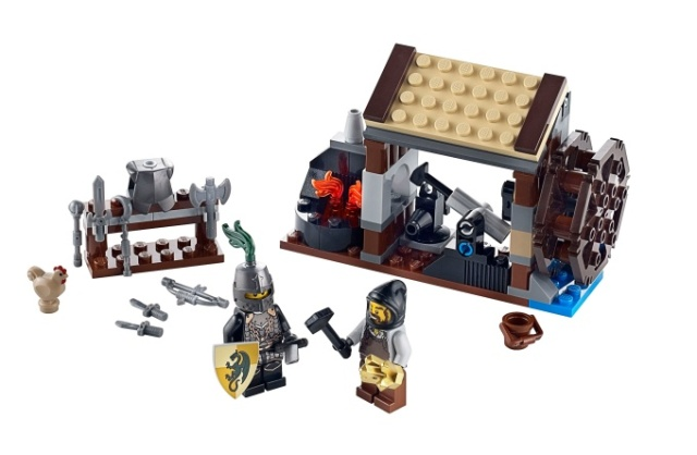 LEGO Castle: Kingdoms: 6918 Blacksmith Attack. 2011. Preowned.