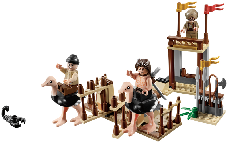 LEGO Prince of Persia: 7570 The Ostrich Race. 2010. Preowned.