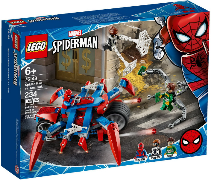 LEGO Super Heroes 76148 Spider-Man vs. Doc Ock. 2020. Complete. Lightly used.
