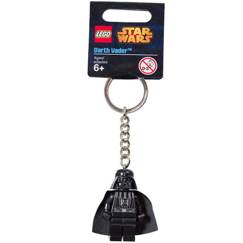 LEGO Star Wars: 853453b Darth Vader Key Chain. 2008. New.