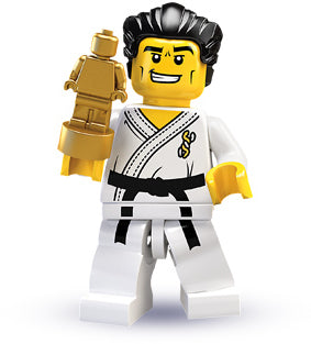 LEGO Collectible Minifigure Series 2: col02-14 New Karate Master Series 2. 2010.