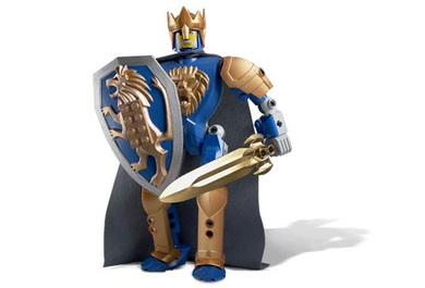 LEGO Knights Kingdom II: 8796-1 King Mathias (Series 2). Includes instructions.