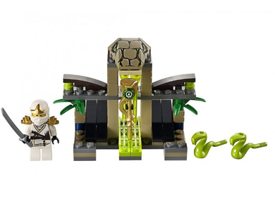 LEGO Ninjago: Rise of the Snakes: 9440 Venomari Shrine. 2012. Preowned.