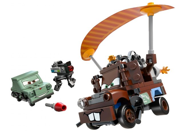 Cars: 9483 Agent Mater's Escape. 2012. Preowned.