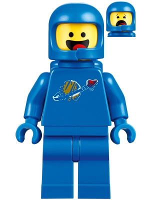 Minifig: The LEGO Movie 2: tlm 107 Benny. 2019. New.