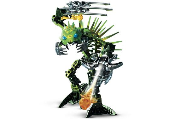 Bionicle Barraki: Ehlek 8920-1 (2007) 53 out of 54 pcs. Missing head.