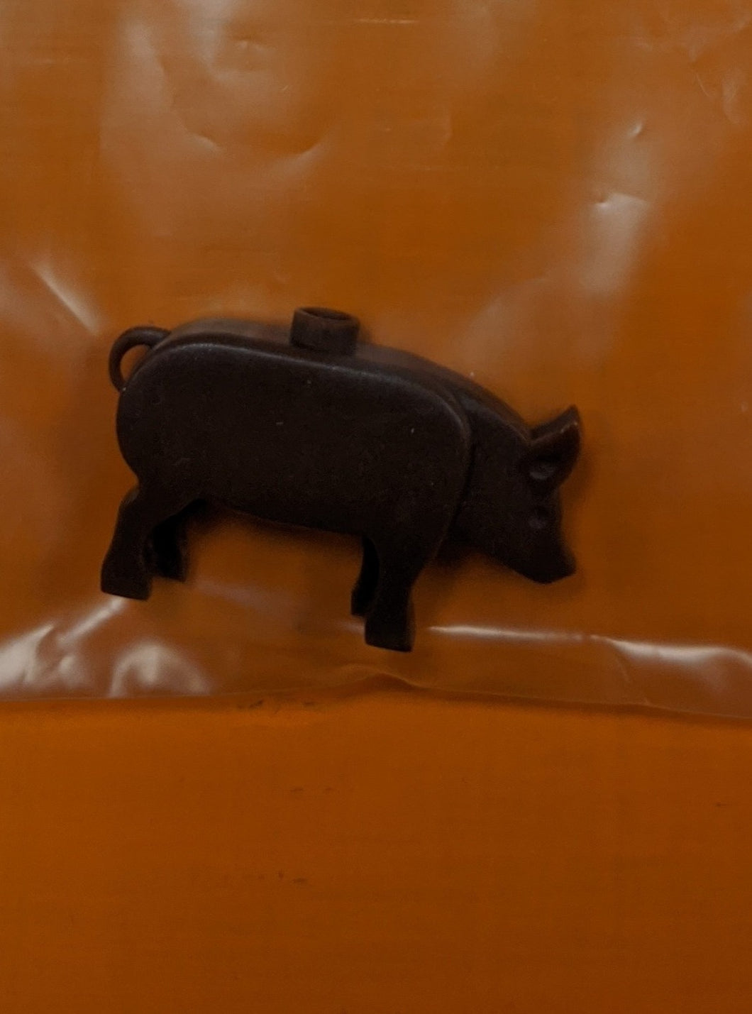 LEGO compatible farm animal: pig Preowned.