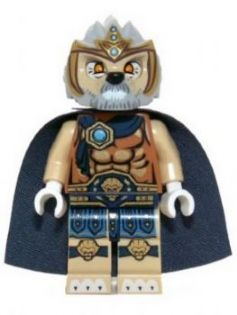 Legends of Chima minifigure: loc030 Lagravis. 2013. Preowned.