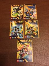 LEGO Nexo Knights Trading Card Booster- 5 Cards, New.