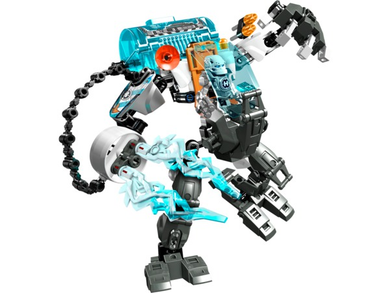 Hero Factory: Stormer Freeze Machine 44017-1 (2014) 71pcs. 3 minifigs. Preowned.