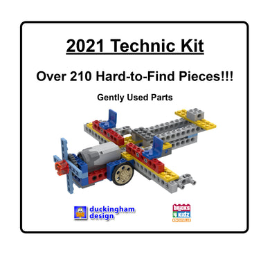 2021 Technic Kit. Over 210 Hard-to-Find Pieces! Gently used parts.