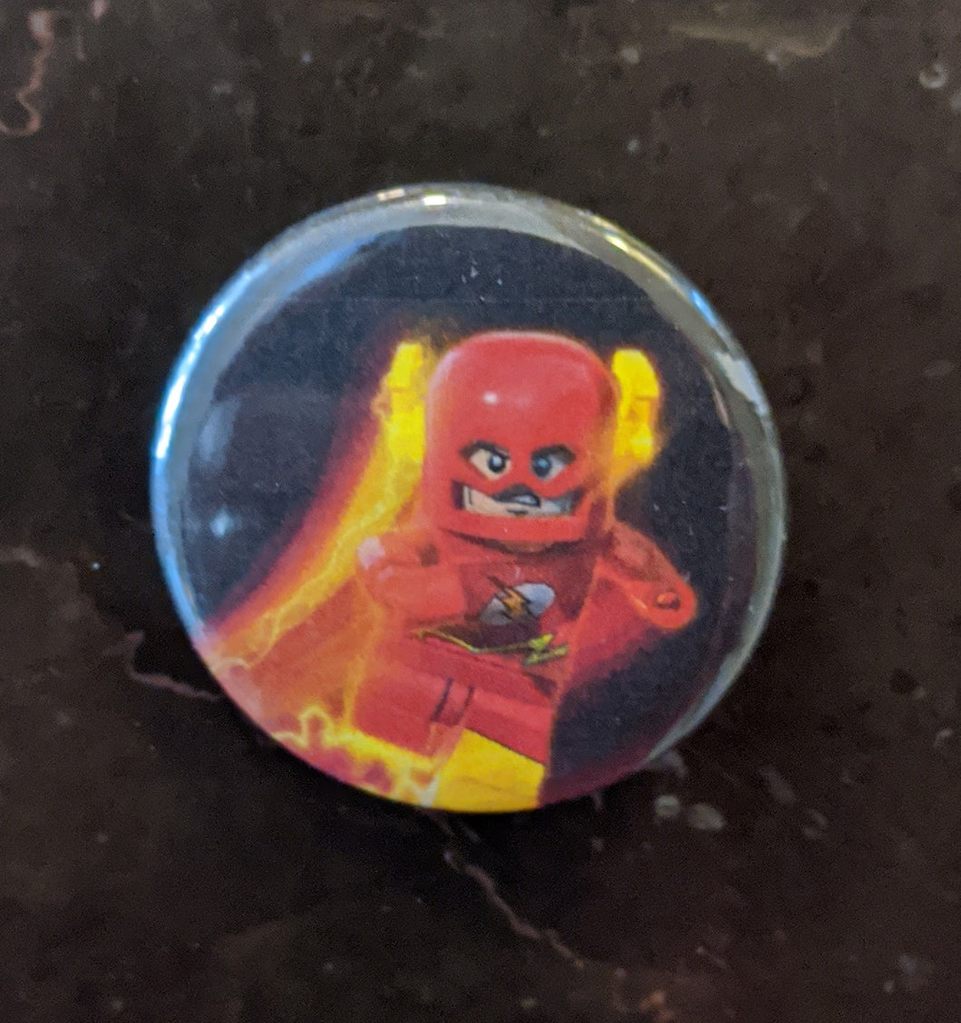 Button/Pin: The Flash Button/Pin. New.
