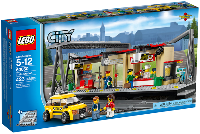 LEGO City: Train Station (2014)