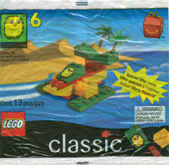 LEGO McDonalds Classic Airplane (1999)