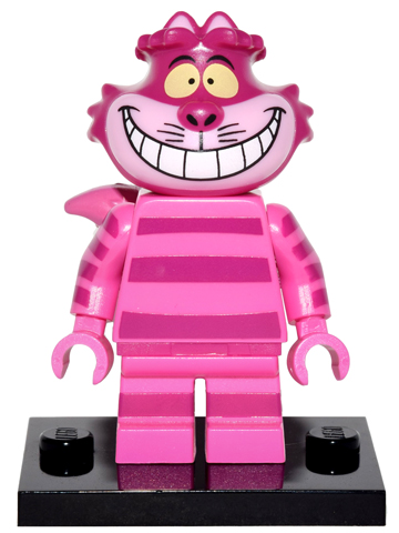 LEGO Collectible Minifig: Disney: coldis-8 Cheshire Cat with stand. 2016.