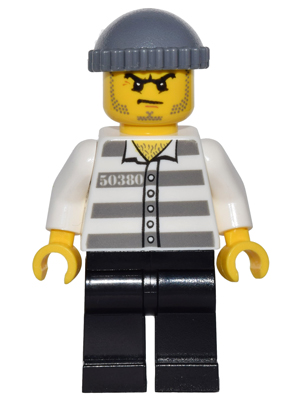 LEGO Minifigs: game009 Jail Prisoner 50380. 2016. New.