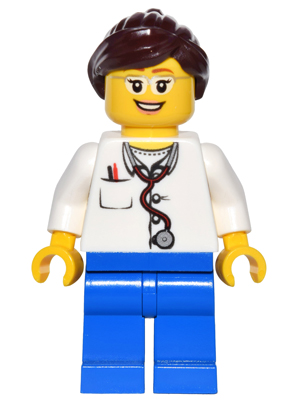 LEGO Minifigs: game012 Doctor. 2016. New.