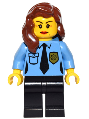 LEGO Minifigs: game013 Police-Female officer. 2016. New.