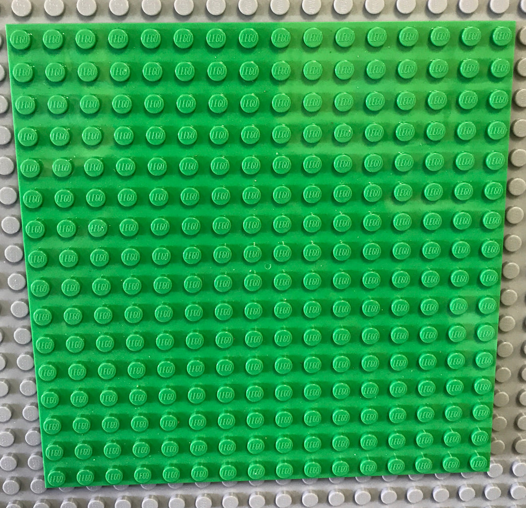 LEGO 16 x 16 Plate | Bright Light Green