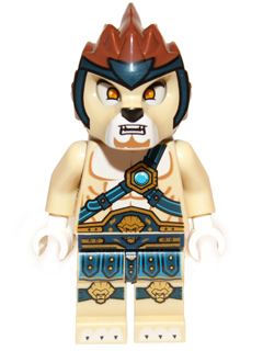 LEGO Legends of Chima minifigure: loc003+ Lennox, Flywheel, Fairing, Ripcord. 2013. Preowned.