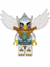 LEGO Legends of Chima minifigure: loc010+ Equila, Flywheel & Fairing, Ripcord. 2013. Preowned.