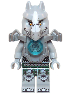Legends of Chima minifig: loc059 Rogon, 2014, preowned, retired.