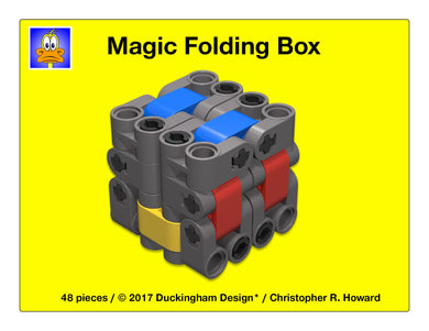 Magic LEGO Folding Box (Custom Design)